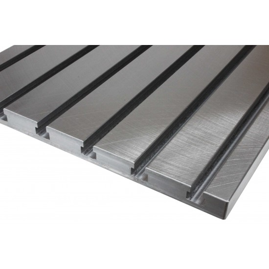 Steel T-slot plate 10050